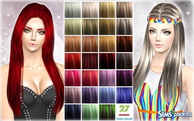 Текстуры волос для симс 4