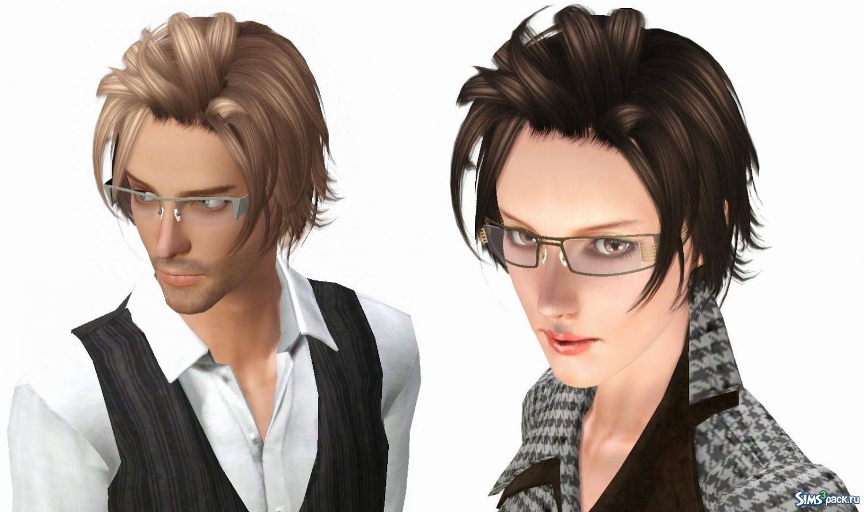 Sims3pack прически для мужчин