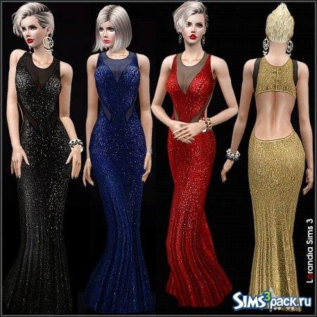 Симс 3 пак симс 4 платье