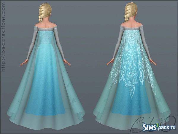 платье эльзы фото