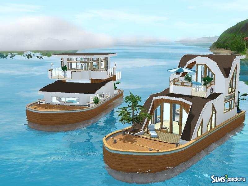 лодка для симс 3