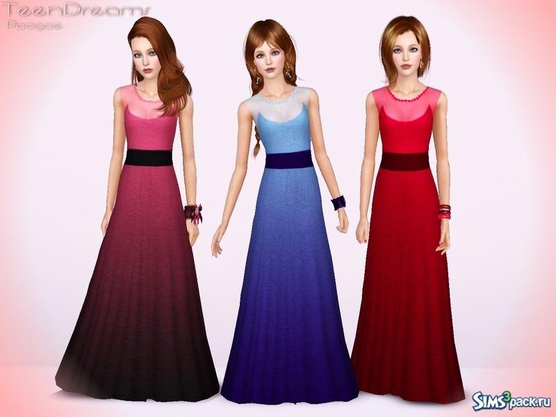 Платья для подростка в пол