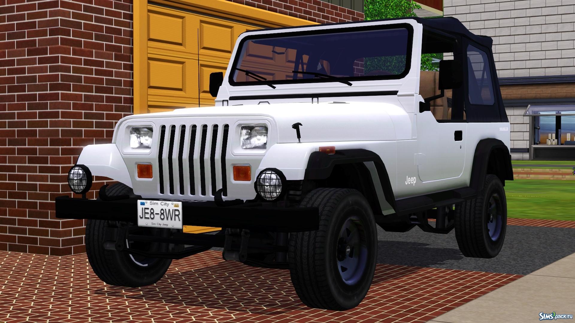 Jeep Wrangler Hemi >> Скачать автомобиль Jeep Wrangler 1988 от Fresh-Prince для ...