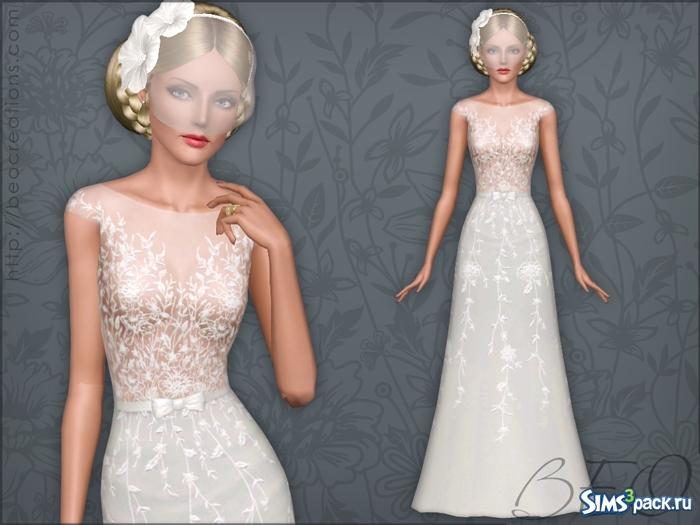 Симс 3 свадьба свадебное платье