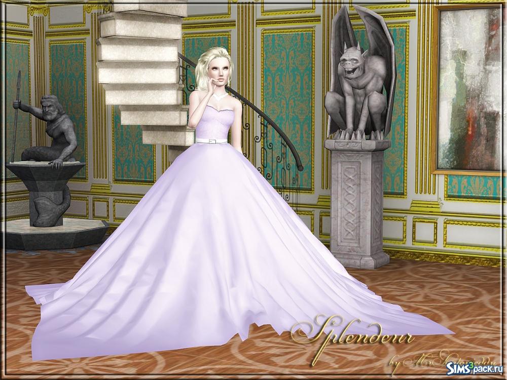 Свадебное платье для симс 3 скачать