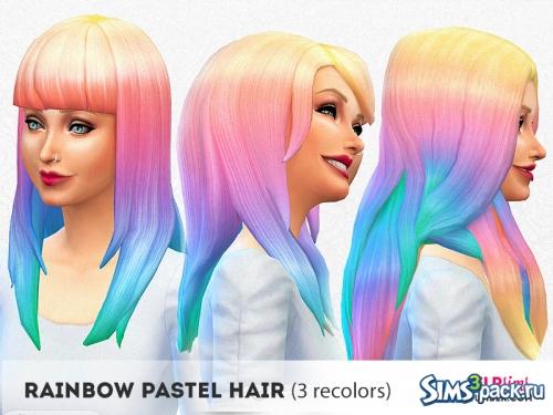 Радужное окрашивание волос от elrsims