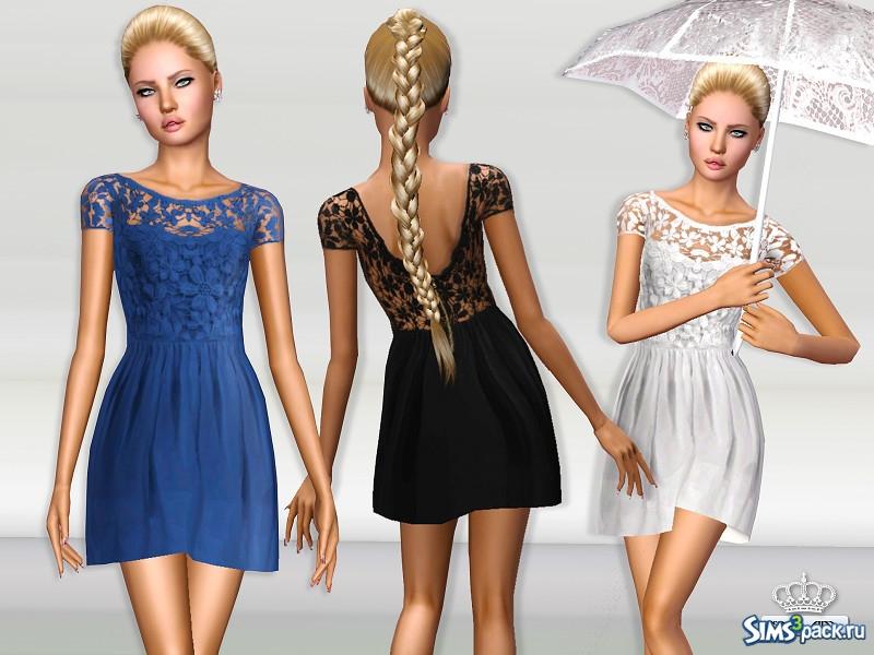 Скачать платье для подростков для симс 3