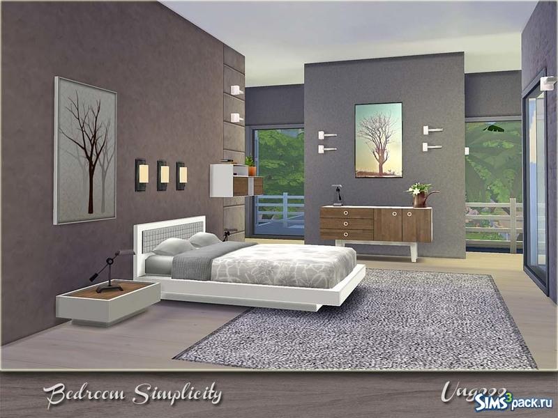 Как сделать красивую спальню в симс 3