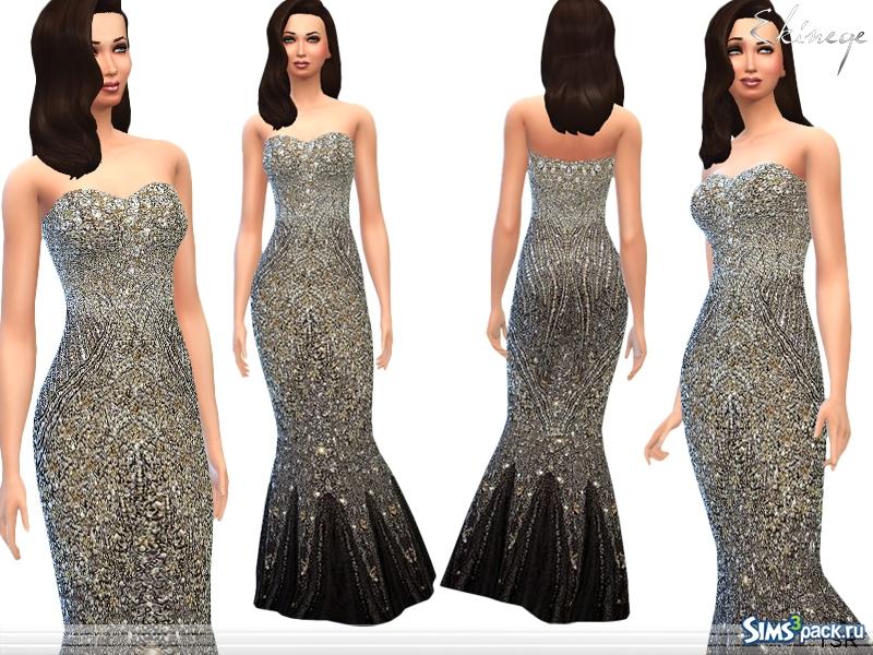 Фото платья с блестками