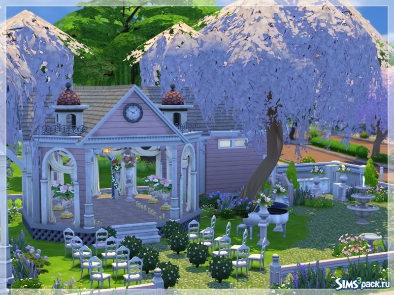 Место для свадьбы в симс 4 скачать