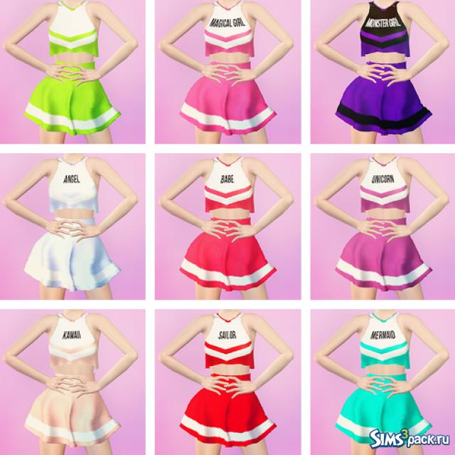 Платье черлидера