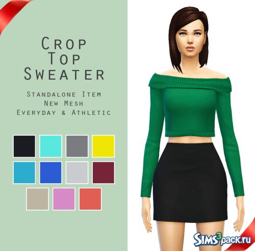 Свитер Crop Top от Sim4ny