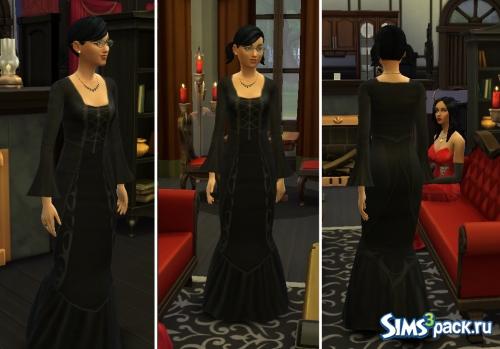 Платье Каcсандры Год из The Sims2 от Kiara24