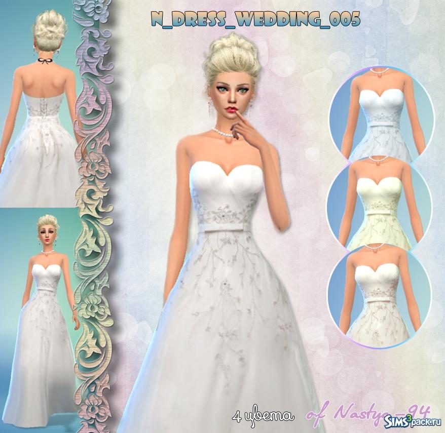 Дополнения симс 4 свадебное платье