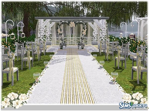 Скачать прическу для свадьба в симс 4