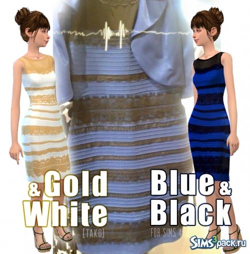 1404bd64ae8 Бело-золотое или черно-синее  В интернете спорят о цвете