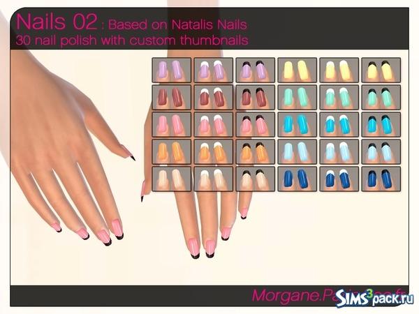 Моды на симс 4 на ногти