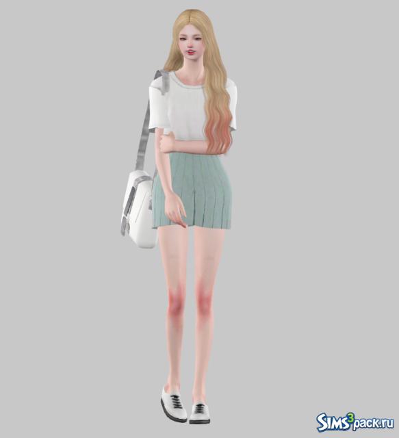 Юбка для симс 3 в формате sims3pack