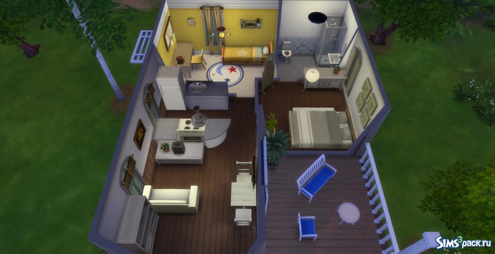 Симс 4 как сделать большой дом