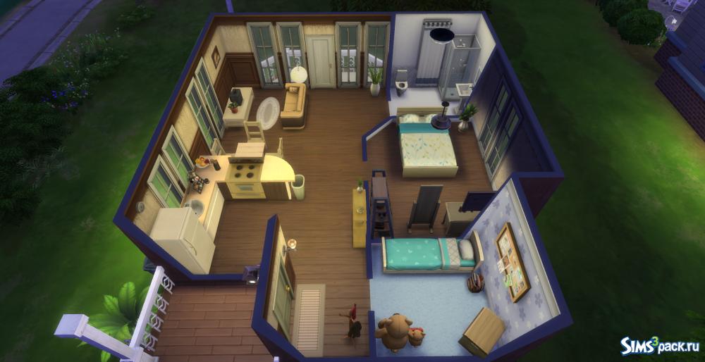 Симс 4 дом семейный схема