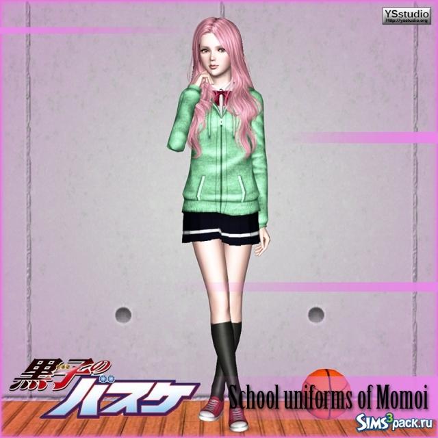 Скачать форма Момои из аниме Kuroko no basuke от Yuu для ... Сацуки Момои Косплей