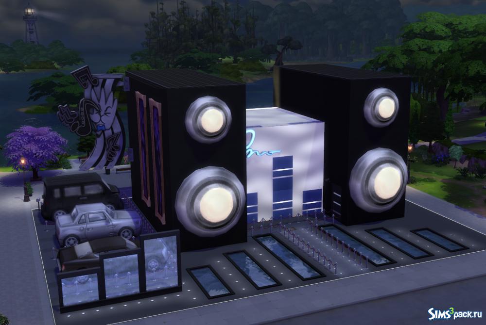 Даешь джакузи! Каталог The Sims 4 Внутренний дворик