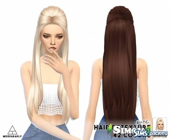 Очень длинные волосы симс 4