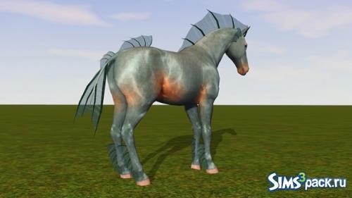 Плавник для лошади от Amanda Schrodinger