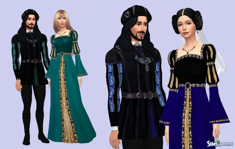 Симс средневековье моды на одежду