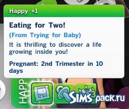 Как ускорить беременность симс 4