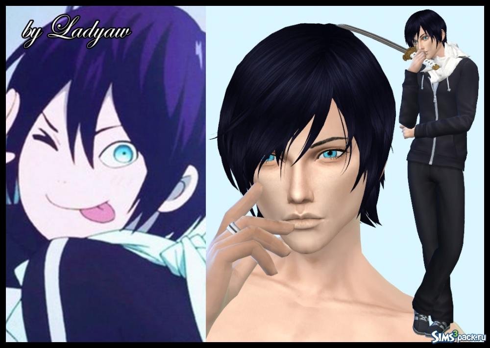 Симс 3 персонажи аниме