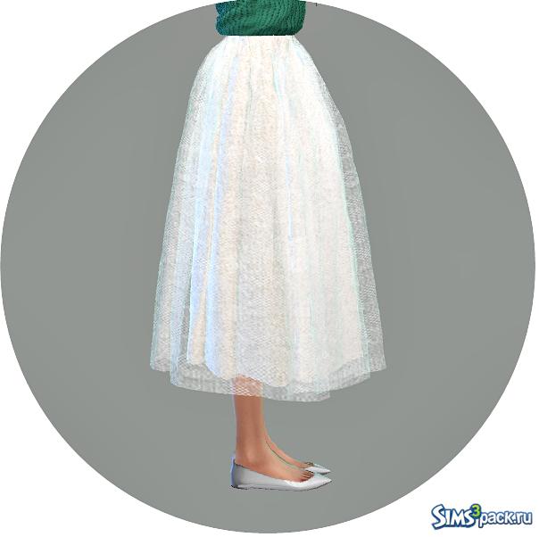 Короткие пышные юбки для симс 4