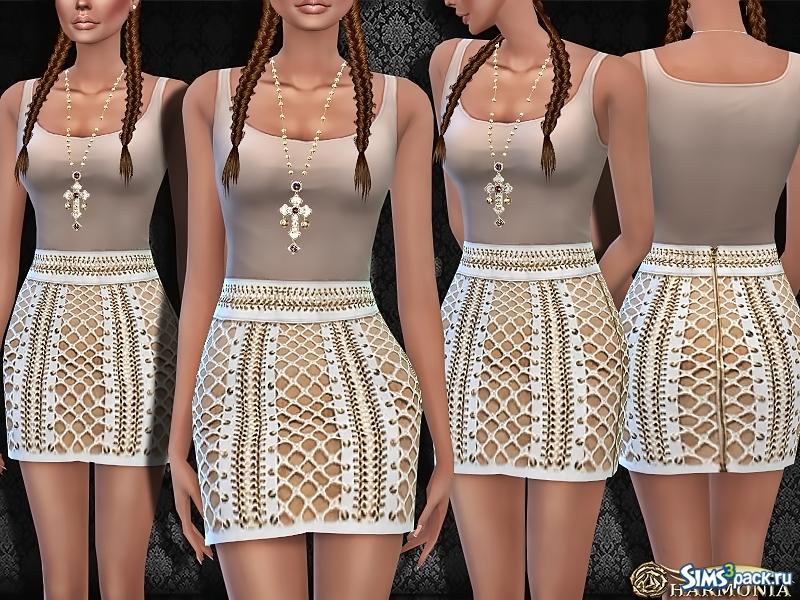 Симс 4 моды на женскую одежду: мини юбки