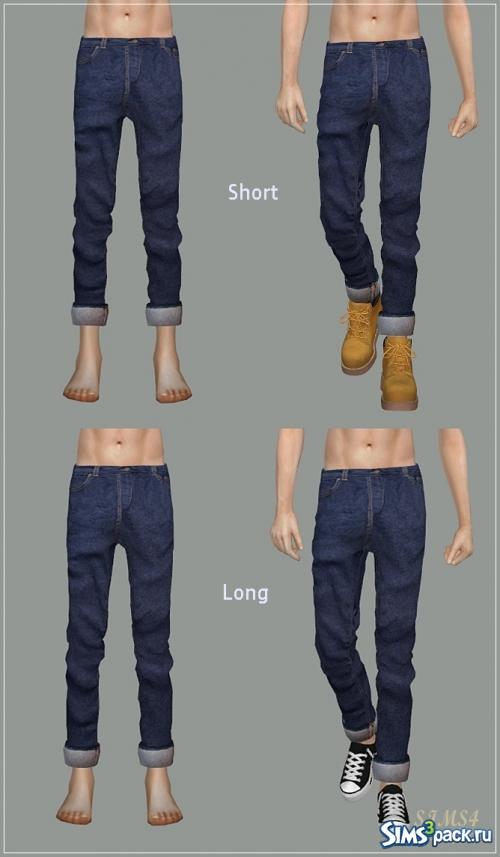 Подвороты на джинсах женские как делать