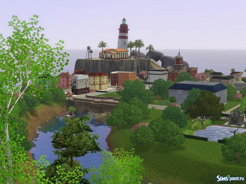 Newsims 3 райские острова
