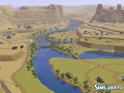 Город Castle Canyon ото Simbody