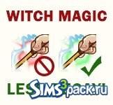 Меньший расход магии для ведьм