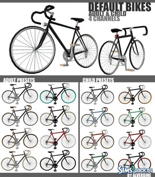 Стандартные велосипеды из основной игры