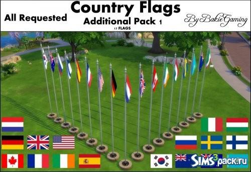 Анимированные флаги стран