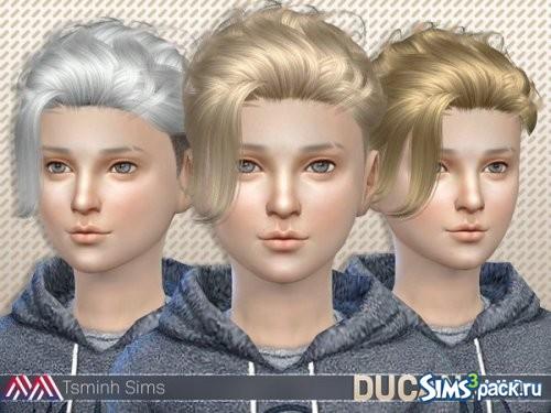 Детская прическа Ducan