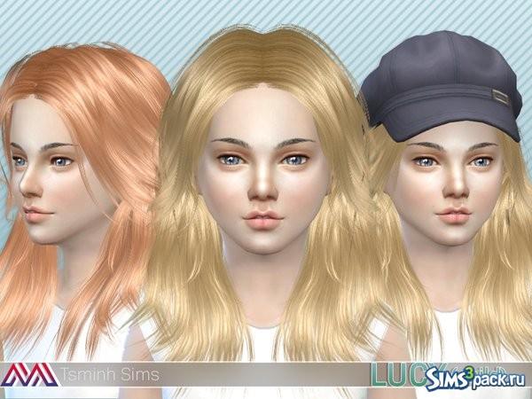 Симс 4 причёски детские