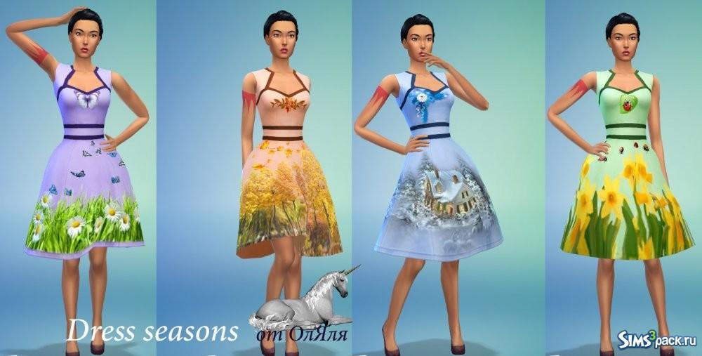 Модные платья на все времена