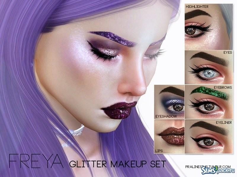 Глиттер макияж 94