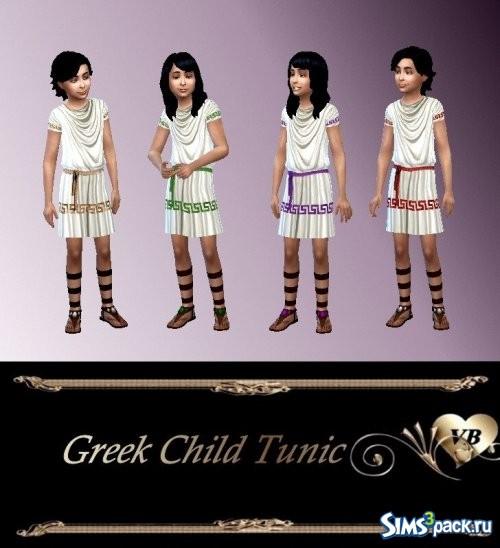 Греческая детская туника.