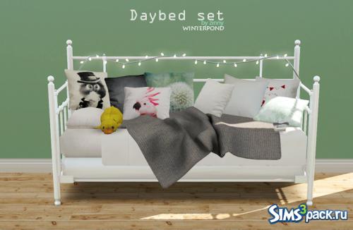 Кровать + текстиль