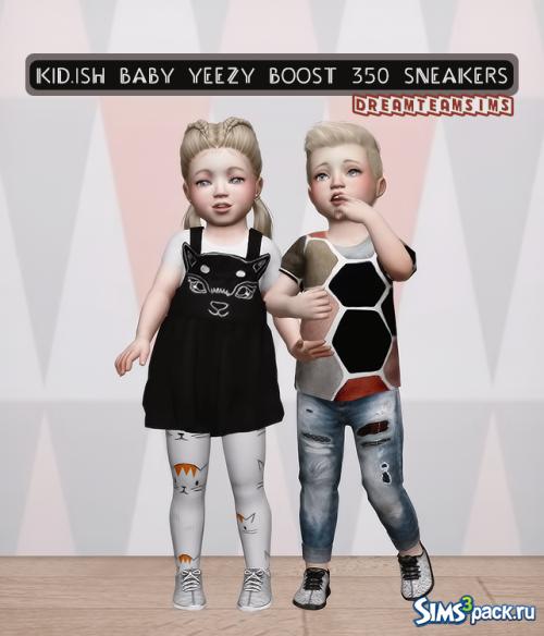 Кеды для малышей Baby Yeezy Boost 350