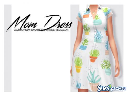Платье mom