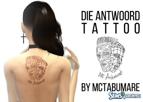 "Татуировка ""Die Antwoord"""