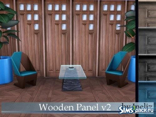 Деревянные панели V2