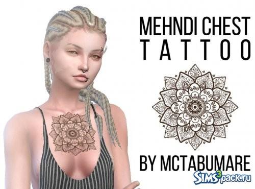 "Татуировка ""Мехенди"""